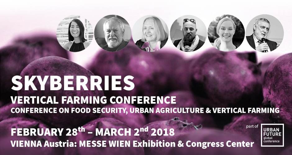 SKYBERRIES conference on vertical farming
