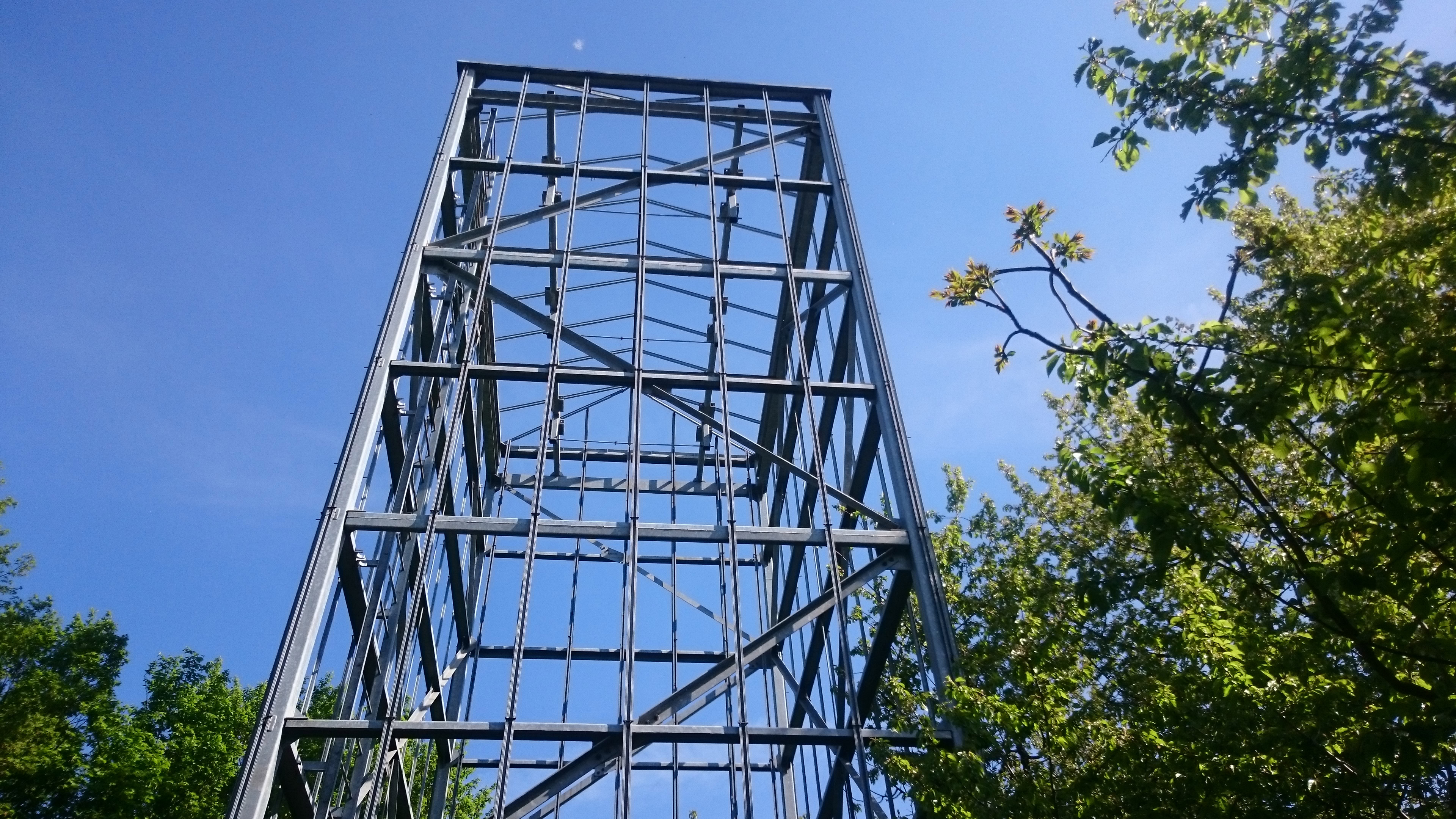 Pressphoto: Ruthner tower 1964, Kurpark Oberlaa (Copyright 2016: vertical farm institute)
