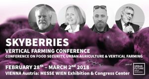 SKYBERRIES vertical farming conference 2018 vienna